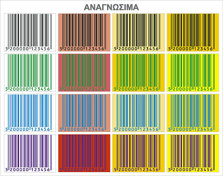 scannable barcodes